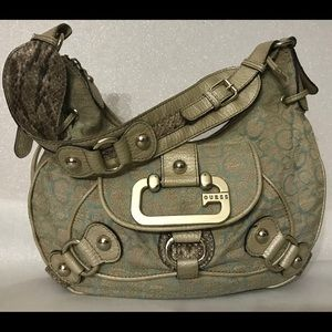 Authentic GUESS Moon Dance Full Size Shoulder Bag
